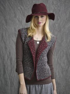 Biltmore Reversible Double-Knit Vest in KISMET http://tahkistacycharles.com/t/pattern_single?products_id=2091