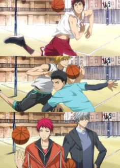 kuroko no basket official arts | Tumblr