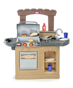 Cook 'n Play Outdoor BBQ Toy Set by Little Tikes #zulily #zulilyfinds