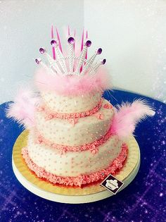 Princesa glamurosa en rosa