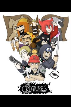 Creatures Creature Hub, Cow Chop, Creatures 3, How To Make Shorts, Short Film, Bowser, Youtubers, Bae, Hilarious