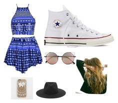 """Day out"" by simonegarvie on Polyvore featuring Converse, Linda Farrow, rag & bone and Lulu DK"