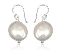 Sterling Silver Natural Pearl Earrings Choose Your Style   eBay