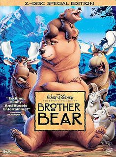 BROTHER BEAR (DVD/2 DISC) CHILDREN/FAMILY WHEN AN IMPULSIVE BOY NAMED KENAI IS MAGICALLY TRANSFORMED INTO A BEAR, HE MUST LITERALLY WALK IN ANOTERH'S FOOTSTEPS UNTIL HE LEARNS SOME VALUABLE LIFE LESSO