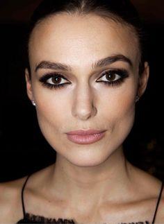 Gorgeous eyes & brows. Keira Knightley