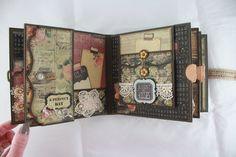6 x 6 Scrapbook roman Romance mini-album PDF par SoMuchScrap