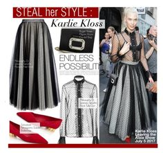"""""""Steal Her Style- Karlie Kloss"""" by kusja ❤ liked on Polyvore featuring BoConcept, PFW, Stealherstyle, fashionWeek, celebstyle and karliekloss"""