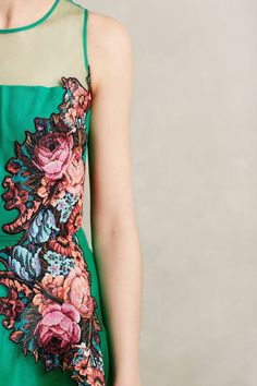 Coral Tree Dress - anthropologie.com