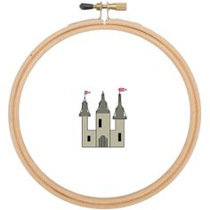Fairy Castle counted cross stitch digital by CraftwithCartwright, £0.50