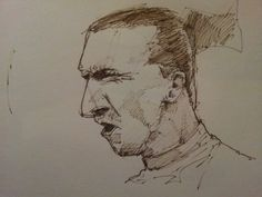 zlatan is angry Sketches, Art, Craft Art, Sketch, Kunst, Gcse Art, Doodles, Sketching, Drawing Reference