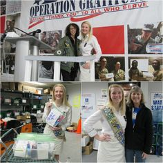 We're grateful for #GirlScouts like Meredith whose awesome Gold Award Project supports #OperationGratitude! #GirlScoutsGiveBack #GoldAward