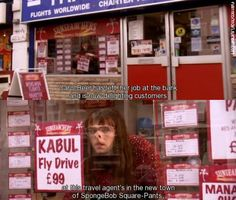 Little Britain is our favourite all-time sketch! Full of inappropriateness, offensive jokes, whacks. Little Britain, Spongebob Square, Horrible Histories, Square Pants, All About Time, Jokes, Sayings, Funny, Husky Jokes