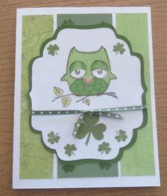 St. Patty's Day card 2013 - Scrapbook.com