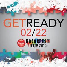 Prepárate para los 5 km más coloridos y divertidos de Guatemala!