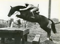Lucinda Green and Whisper.  Photo from Horse & Hound