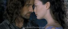 Relatively Unknown Lord of the Rings Facts - Aragorn and Arwen - Imgur