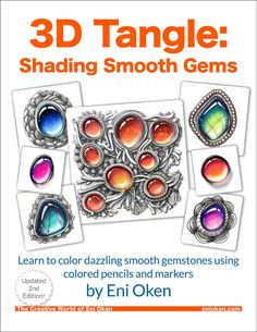 Learn how to shade dazzling gemstones using colored pencils!  2nd Edition…
