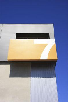 Architecture typography