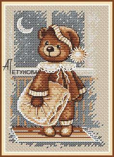 Сладких снов, схема для вышивки, арт. АП-015 Анна Петунова | Купить онлайн на Mybobbin.ru