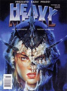 161 Best Heavy Metal Magazine Images On Pinterest