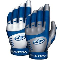 Easton Home and Road Baseball Batting Glove Size: Large, Color: Red « Ever Lasting Game