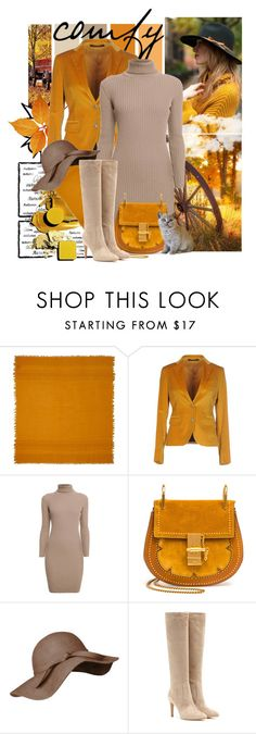 """""""Comfy...."""" by tinuviela ❤ liked on Polyvore featuring DAMIR DOMA, Tagliatore, Rumour London, Chloé and Gianvito Rossi"""