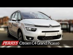 New 2014 Citroen Grand C4 Picasso Exclusive Review and Test Drive - YouTube