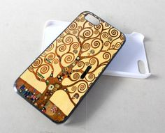 Gustav Klimt Tree of life for iPhone 4/4s/5/5s/5c, Samsung Galaxy s3/s4 case