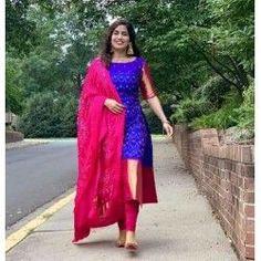 #salwarsuit #salwarsuits #SalwarSuitOnline #salwarsuitmaterial #salwarsuitspartywear #salwarsuitneckdesigns Long Dress Design, Stylish Dress Designs, Dress Neck Designs, Fancy Blouse Designs, Designs For Dresses, Chudithar Neck Designs, Chudidhar Designs, Salwar Suit Neck Designs, Kurti Back Neck Designs