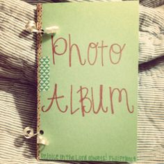 Steps to making a simple photo album when writing your first letter to your sponsored child. Could be used for anytime you want to send your sponsored child photos of you and your family.