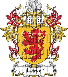 Lewe Family Crest apparel, Lewe Coat of Arms gifts