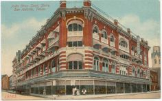 Joske's flagship store at Alamo and Commerce Streets in downtown San Antonio, Texas