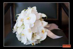 Boston Wedding Photography, Boston Event Photography, Bridal Bouquet, White Orchid Bouquet, Classic White Wedding Bouquet