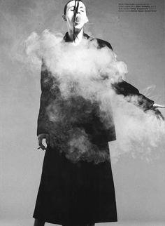 Dior Homme + Yohji Yamamoto = Smokey smoky