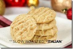 Spiced Eggnog Cookies