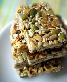 Homemade snack bars