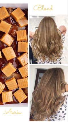 Caramel, Long Hair Styles, Beauty, Sticky Toffee, Candy, Cosmetology, Long Hairstyles, Long Hair Cuts, Long Hairstyle