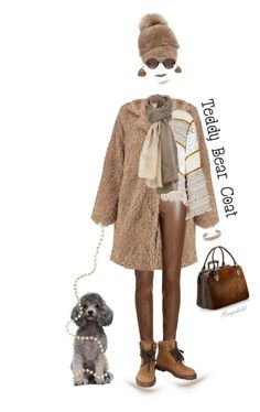 """Teddy Bear Coat"" by ragnh-mjos ❤ liked on Polyvore featuring Boohoo, Joseph, Sylvia Alexander, See by Chloé, Aspinal of London, Chanel, Steve Madden, Sabine G. and Jennifer Zeuner"