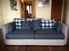 Nami sofa designed by Carlo Colombo placed in a friend's house.