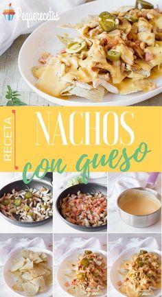 Nachos con queso en 3 pasos fáciles. Receta de nachos con queso