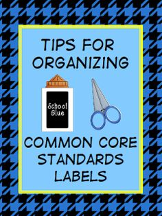 not sure if the juice is worth the squeeze http://teach123-school.blogspot.com/2012/04/organizing-your-common-core-standard.html