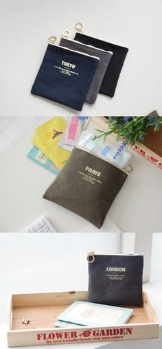 It is a small and slim pouch designed to store your small items to keep them organized at all times! Made of durable canvas material, it can do its job for you for a long period of time! London Garden, Canvas Material, Beautiful Flowers, Period, Stationery, Pouch, Slim, Organization, Pure Products