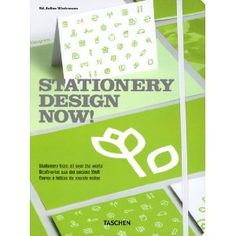 """Graphic Design > """"Stationery Design Now!"""" by Taschen has arrived! Graphic Design Books, Buch Design, Stationary Design, All Themes, Corporate Identity, Good Books, Art Decor, Book Art, Cool Designs"""