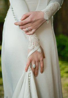 detalhes do vestido de Bella Swan