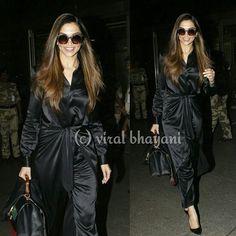 Welcome back bae!! Deepika Padukone spotted at Mumbai airport today
