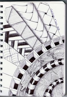 Zenshine. Zentangle is the art of drawing structured patterns to create beautiful artwork. It can be very therapeutic and relaxing. Who couldn't use a little relaxation?: