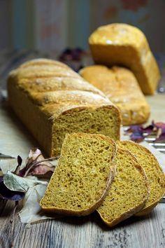 stuttgartcooking: Kürbis-Brot mit Dinkelmehl gebacken