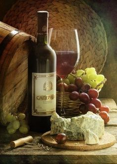 My Life in the Countryside - Obst Fotografie Wine Painting, Fruit Picture, Wine Photography, Wine Decor, Wine Art, Wine Cheese, Still Life Art, Wine Time, Fruit Art