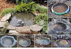 DIY Garden pond! :D ❤