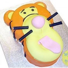 Tigger Cake, how mine will actually look.